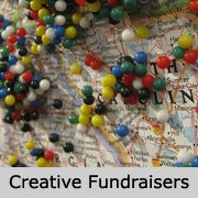 Creative Fundraising Ideas - Pin On Map Treasure Hunt! (Photo by Selena N. B. H. / Flickr)