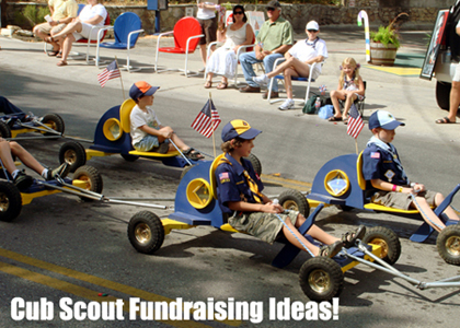 The best Cub Scout Fundraising Ideas! Read more!  (Photo by Michael Witzel / Flickr)