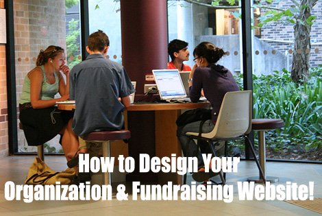 How to design your organization and fundraising website. (Photo by James / Flickr)