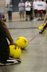 A Dodgeball tournament, along with other sporting tournaments, could work really well as a personal fundraiser. (Photo by Marvin Kuo / Flickr)