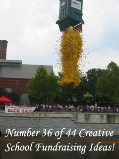 A Duck Race. One of the many Creative School Fundraising idea you could use. (Photo by terren in Virginia / Flickr)