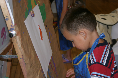 A Kids Art Exhibition is a really creative fundraising idea that has good potential. (Photo by Chris Winters / Flickr)