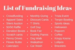 Rewarding Fundraising Ideas: The BEST Fundraisers & Tips