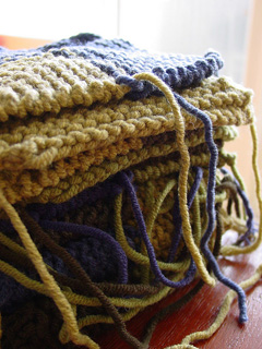Knitting for Charity interview with Sandy McDonald. (Photo by Breibeest / Flickr)