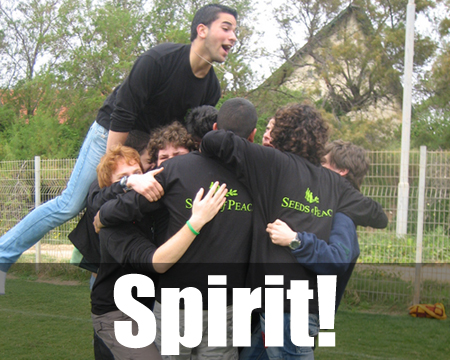 A School Spirit Fundraiser is a fantastic way of raising funds for your school, whilst at the same time creating spirit. (Photo by Seeds of Peace / Flickr)