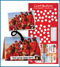 Scratch Cards provide a great twist to Coupon Book Fundraising!