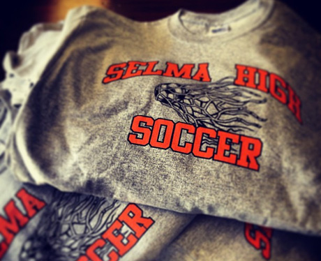 Soccer fundraising through team and supporter Apparel is one of the BEST fundraisers your club or team could possibly use!!! (Photo by Selma Bears / Flickr)