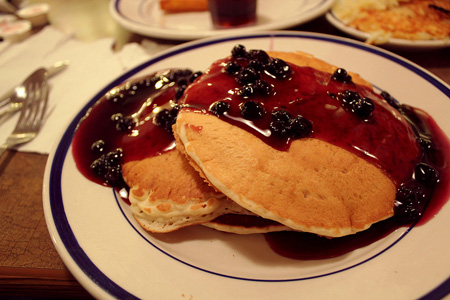 Do you have a great pancake or flapjack recipe for your Fundraising Cookbook? Then make sure you test it out at a Taste Test Fundraising Event!  (Photo by Kaitlin / Flickr)