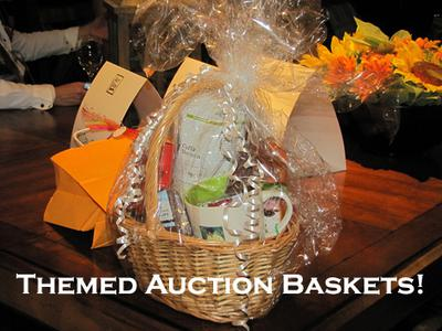 A Themed Basket Auction is a brilliant fundraising idea, especially for schools etc. (Photo by Clarkston Scamp / Flickr.com)