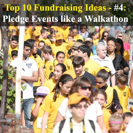 Looking for the BEST Fundraising Ideas? These are the Top 10 Fundraising Ideas you could use. Number 4 - Pledge Events. This idea holds big funding potential. (Photo by Saint Francis Academy / Flickr)