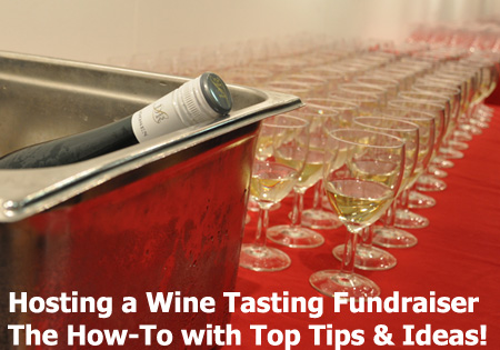 The Wine Tasting Fundraiser is a super cool fundraising event that has successfully used for years. (Photo by Nick Webb / Flickr)